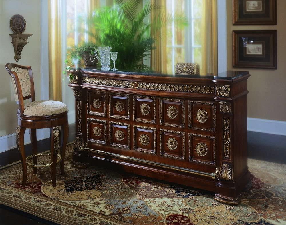 Bar WNL1U – Neoclassical Charm Portable Home Bar